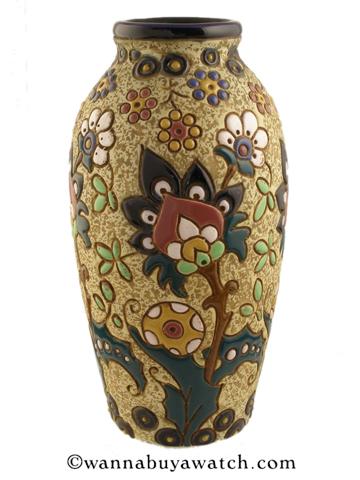 Amphora Campina Vase 1920's