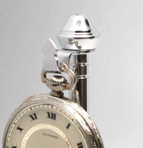 Hand Made Onyx Pocketwatch Stand Art Deco Style