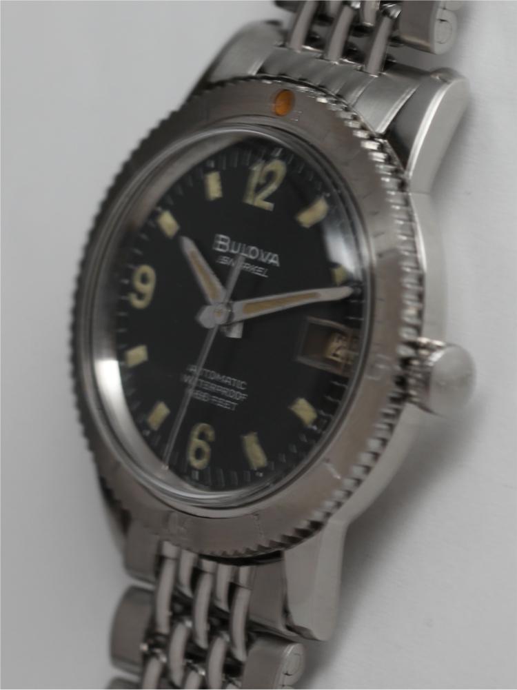 "Bulova SS Diver's ""Snorkel"" 666 circa 1964"