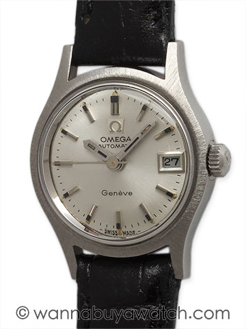 Omega Automatic Lady Stainless Steel circa 1960's