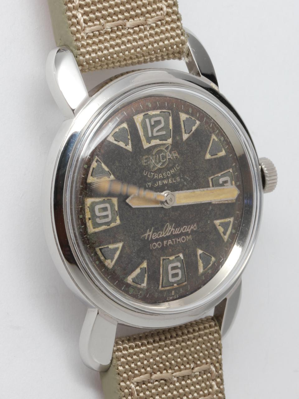 Enicar Heathways Diver's circa 1959