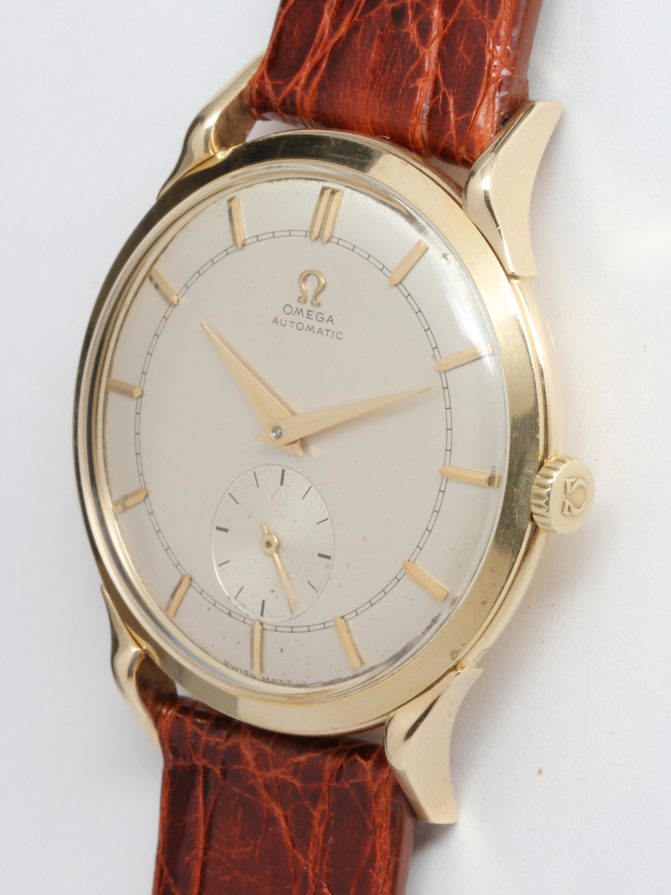 Omega 18K YG Large Automatic Dress Model circa 1959