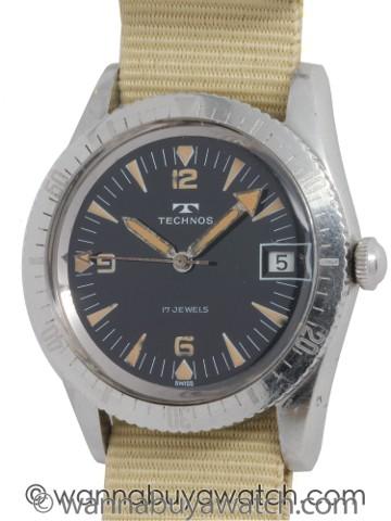 Technos SS Diver's circa 1960's