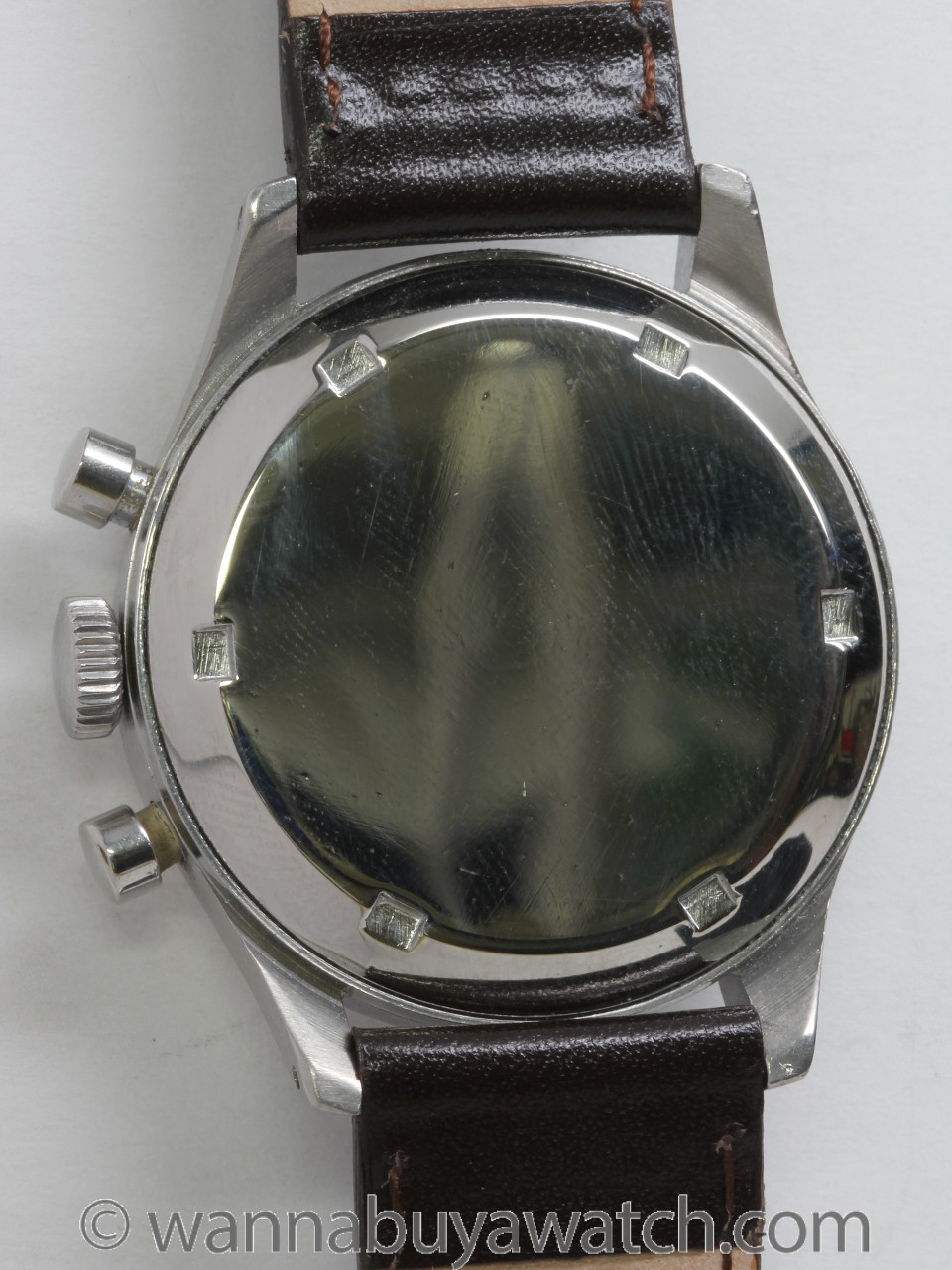 AR & JE Meylan 3 Registers Chronograph circa 1950's