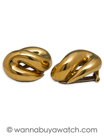 18K Moderne Earrings