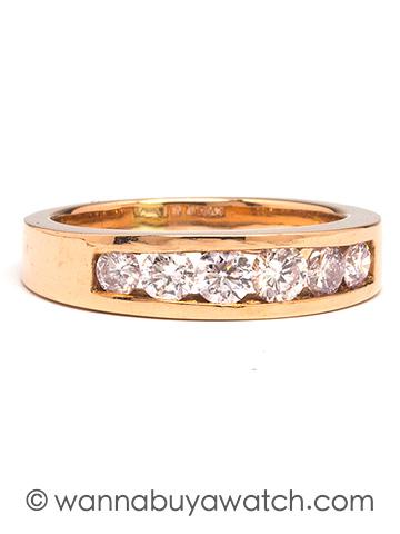 18K Pink Gold & Diamonds