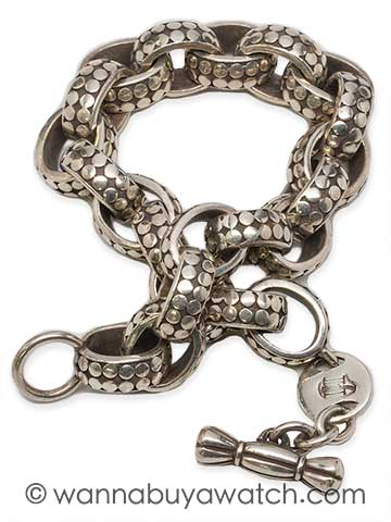 John Hardy Sterling Silver Man's Bracelet