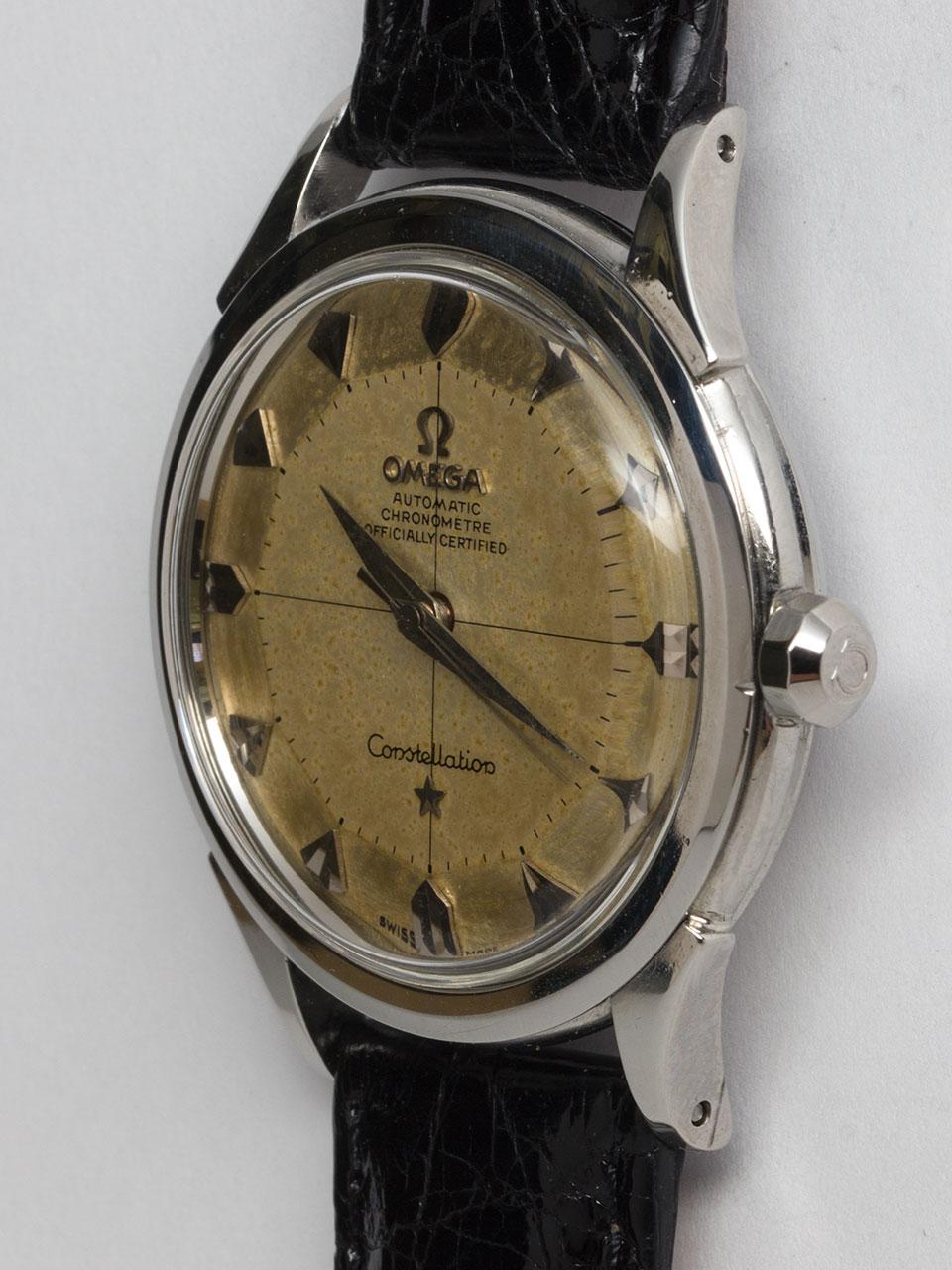 Omega SS Constellation ref 2852 Pie Pan circa 1958 B & P