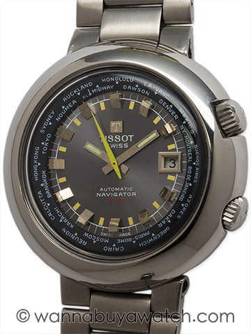 Tissot SS T-12 Navigator World Time