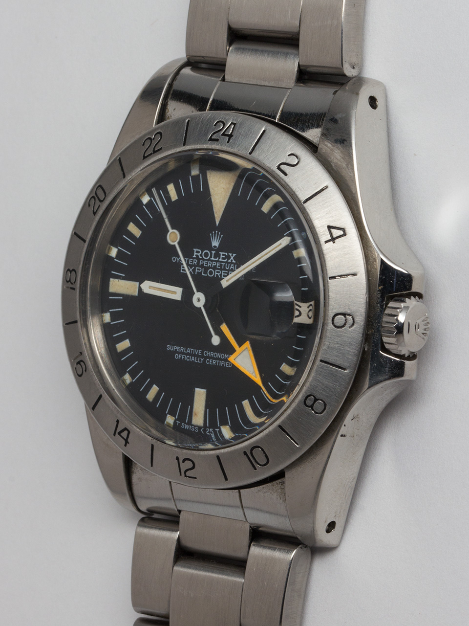 "Rolex Explorer II ref# 1655 Stainless Steel aka ""Steve Mcqueen"" circa 1981"