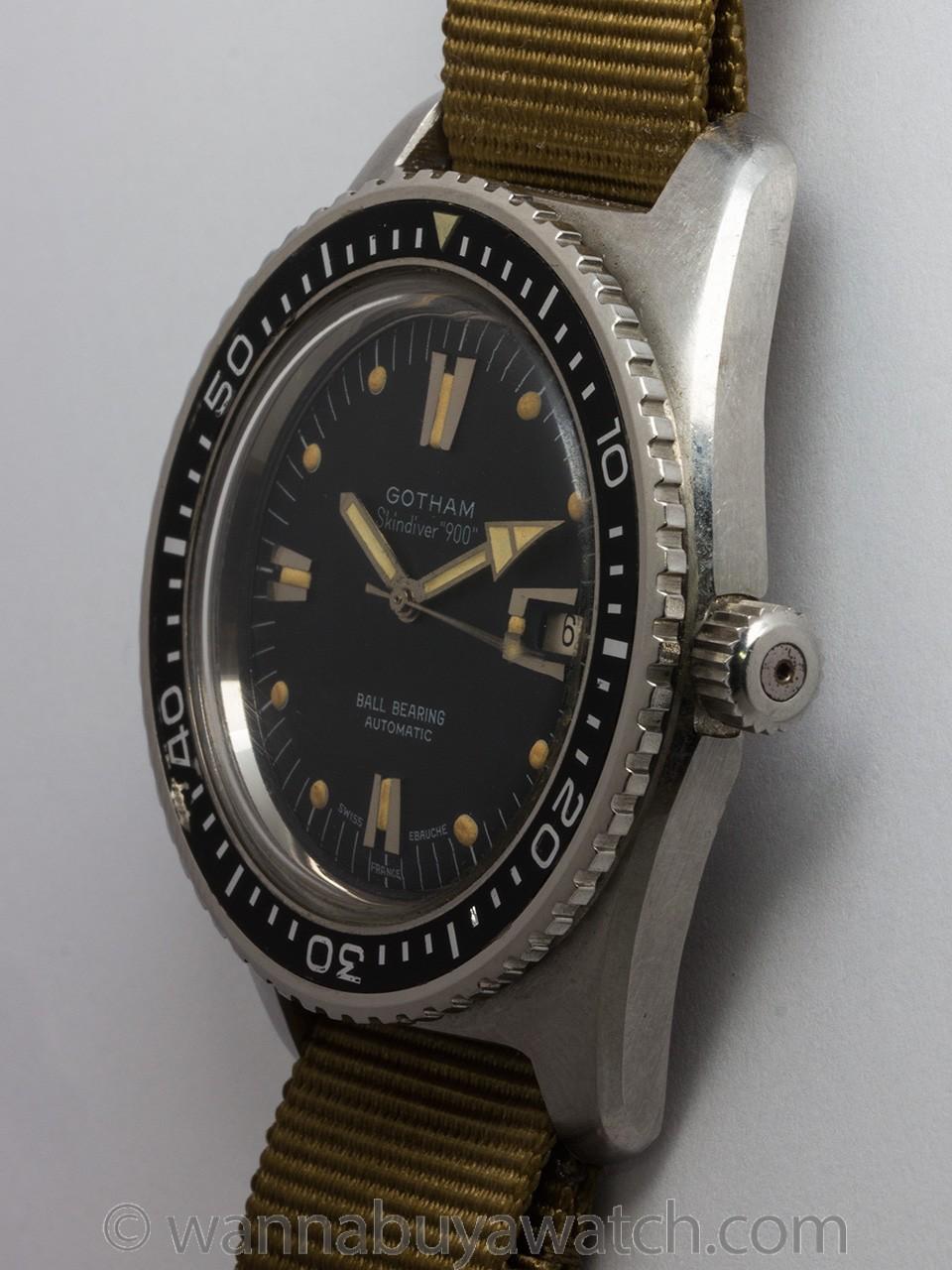 Gotham SS Swiss Skin Diver 900 circa 1960's