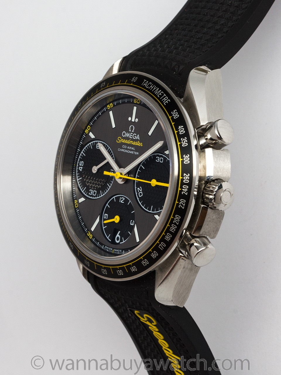 Omega Speedmaster Racing Stainless Steel 2015 B & P