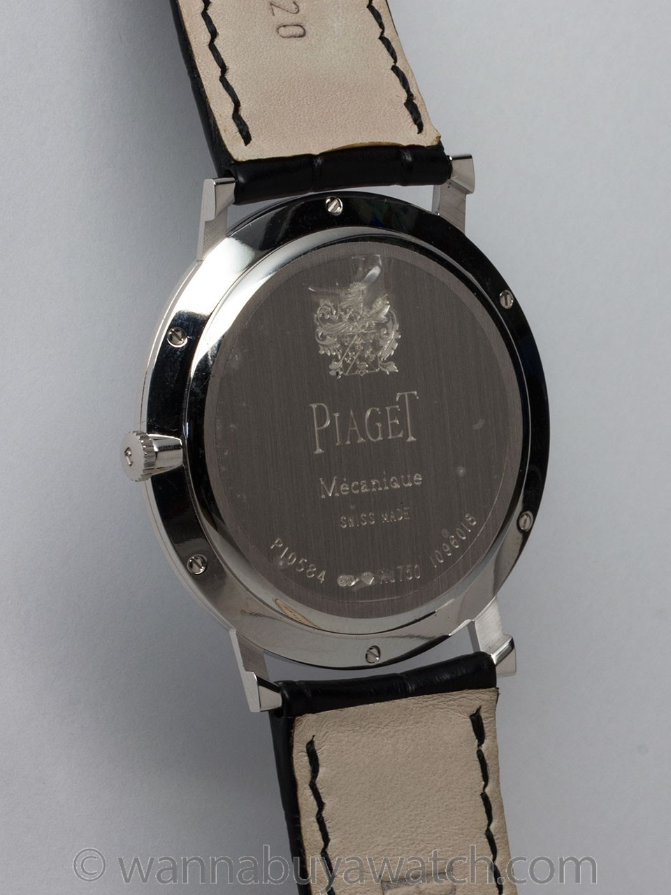 """Piaget 18K WG Altiplano 2014 """"Mint"""" with Box & Papers"""