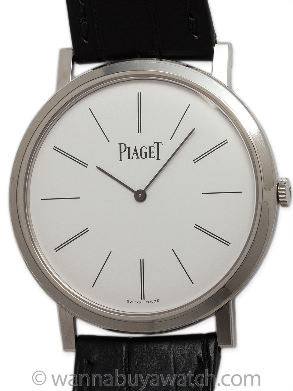 "Piaget 18K WG Altiplano 2014 ""Mint"" with Box & Papers"