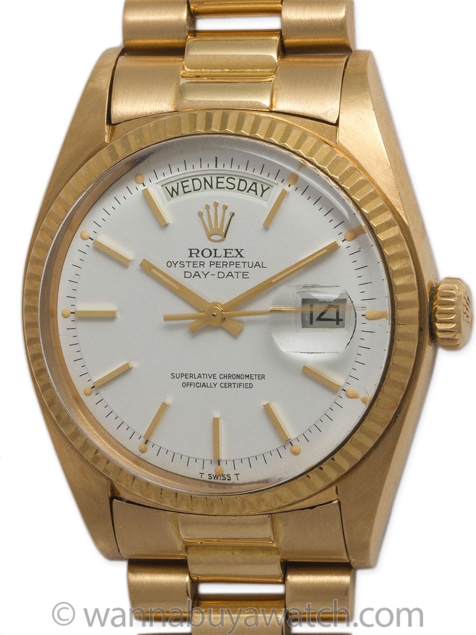 Rolex 18K YG Day Date ref 1803 circa 1973