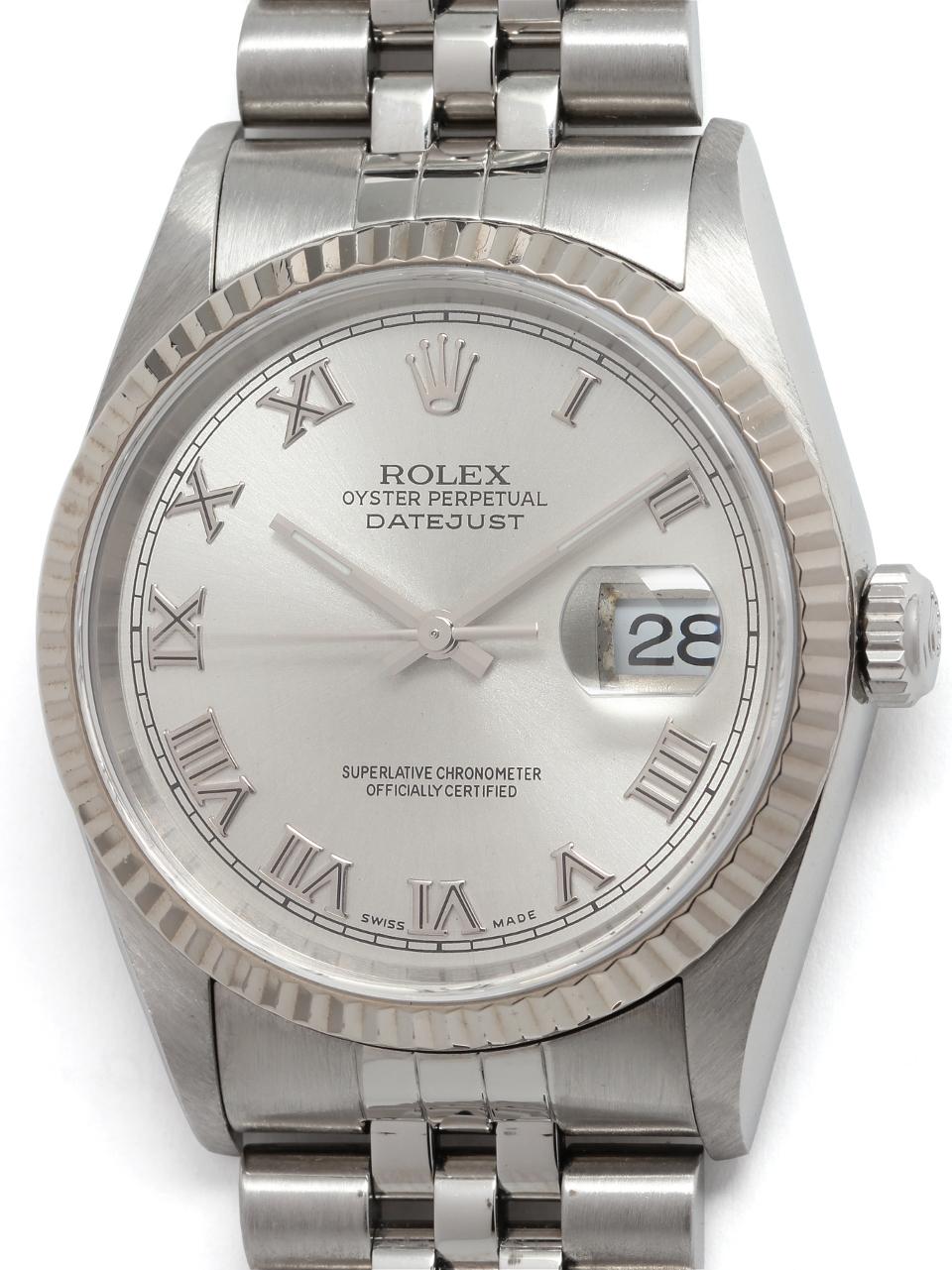 Rolex SS Datejust ref# 16234 circa 2000