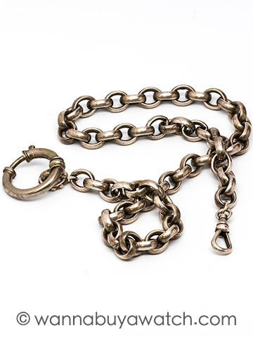 Silver Pocketwatch Chain