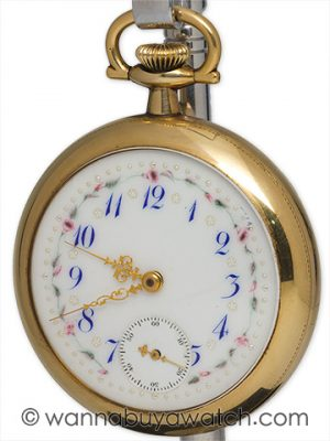 Waltham Man's Pocketwatch Fancy Dial circa 1915