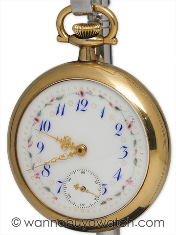 Waltham Man's Pocketwatch Fancy Dial circa 1915