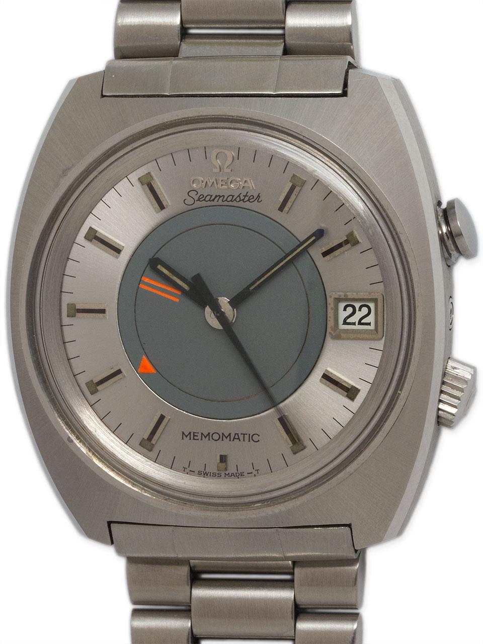 Omega Seamaster Memomatic Alarm circa 1970s