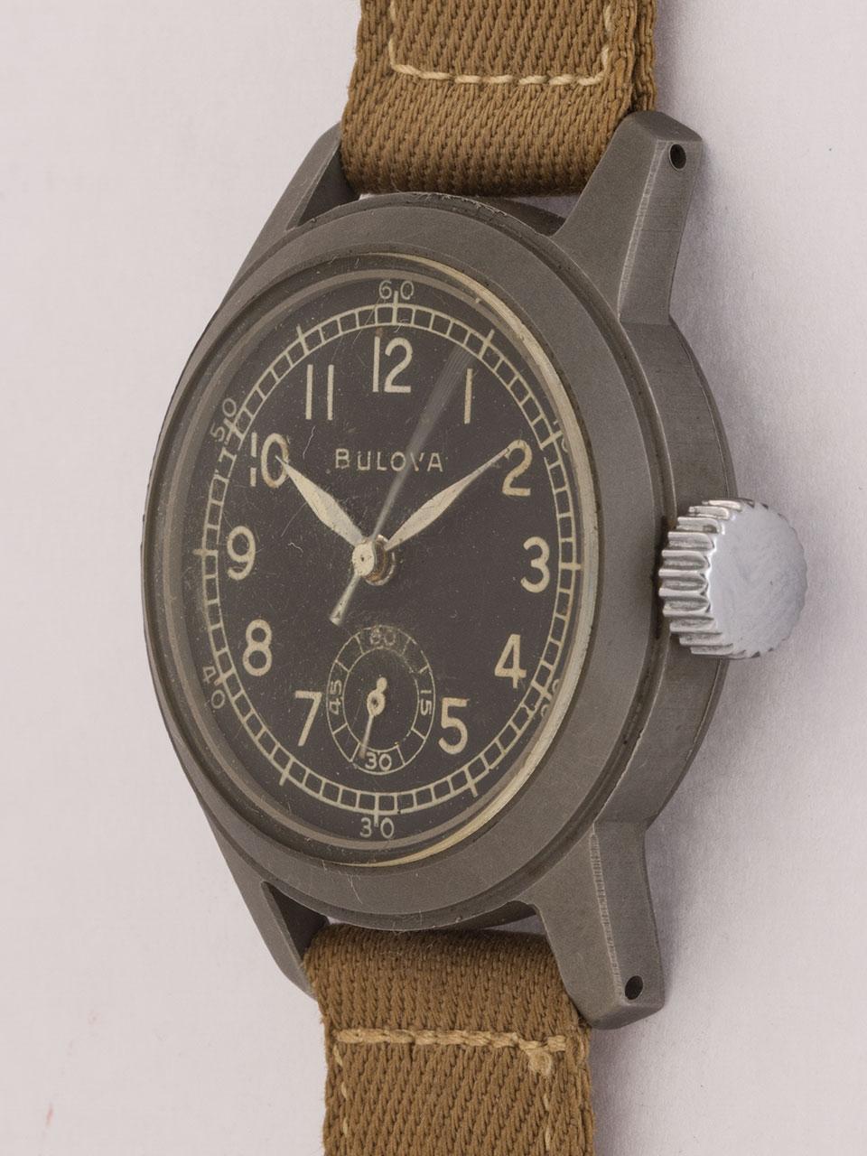 Bulova WWII Double Hacking A17A