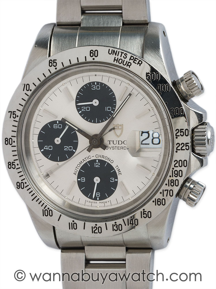 Tudor SS Oyster Date Chronograph ref # 79180 circa 1980s