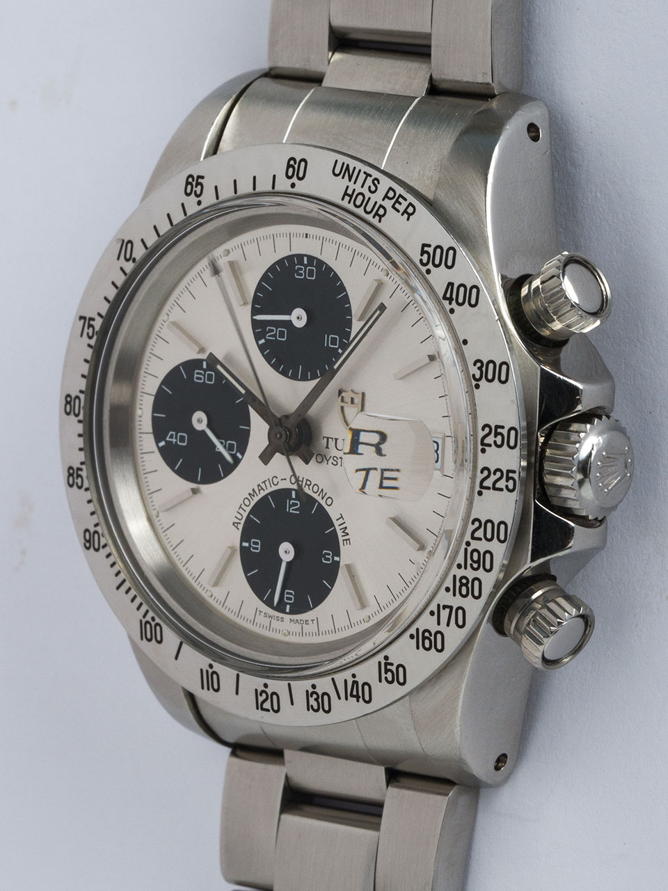 Tudor SS Oyster Date Chronograph ref # 79180 circa 1980s