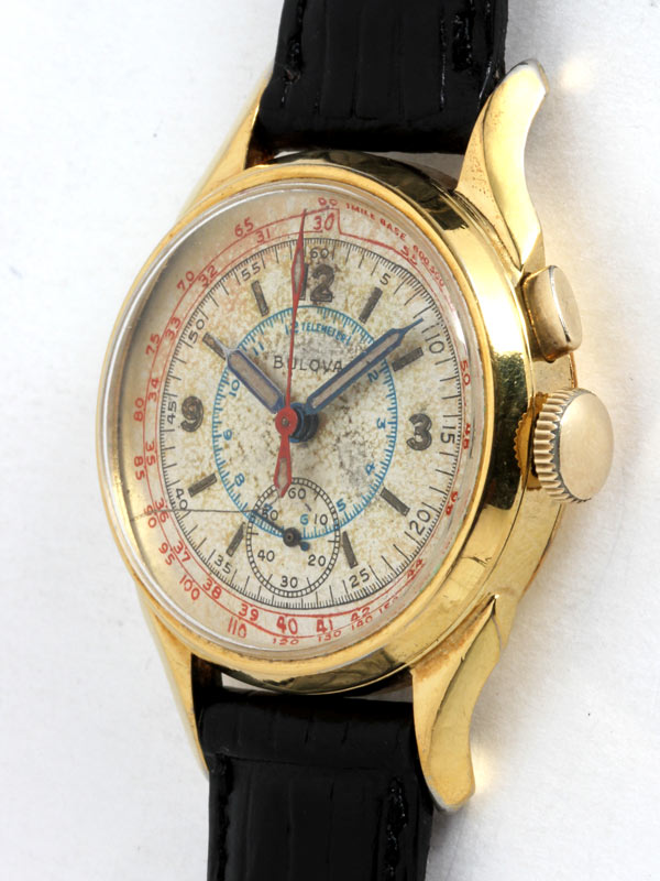 Bulova Single Pusher Chronograph circa 1940's