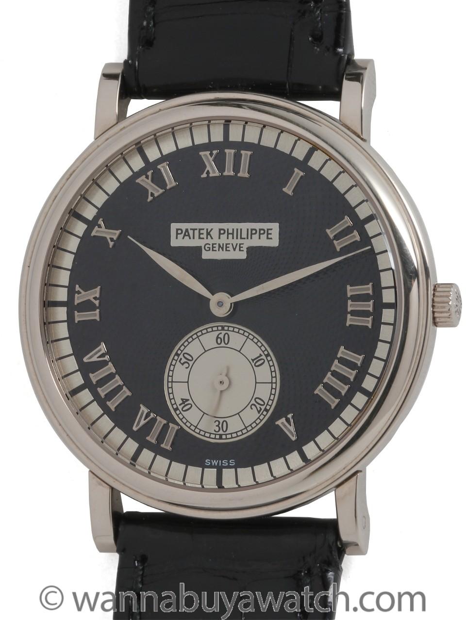 Patek Philippe 18K WG ref 5022G circa 1990's