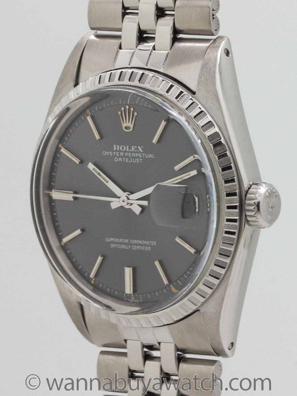 Rolex SS Datejust ref 1603 circa 1968