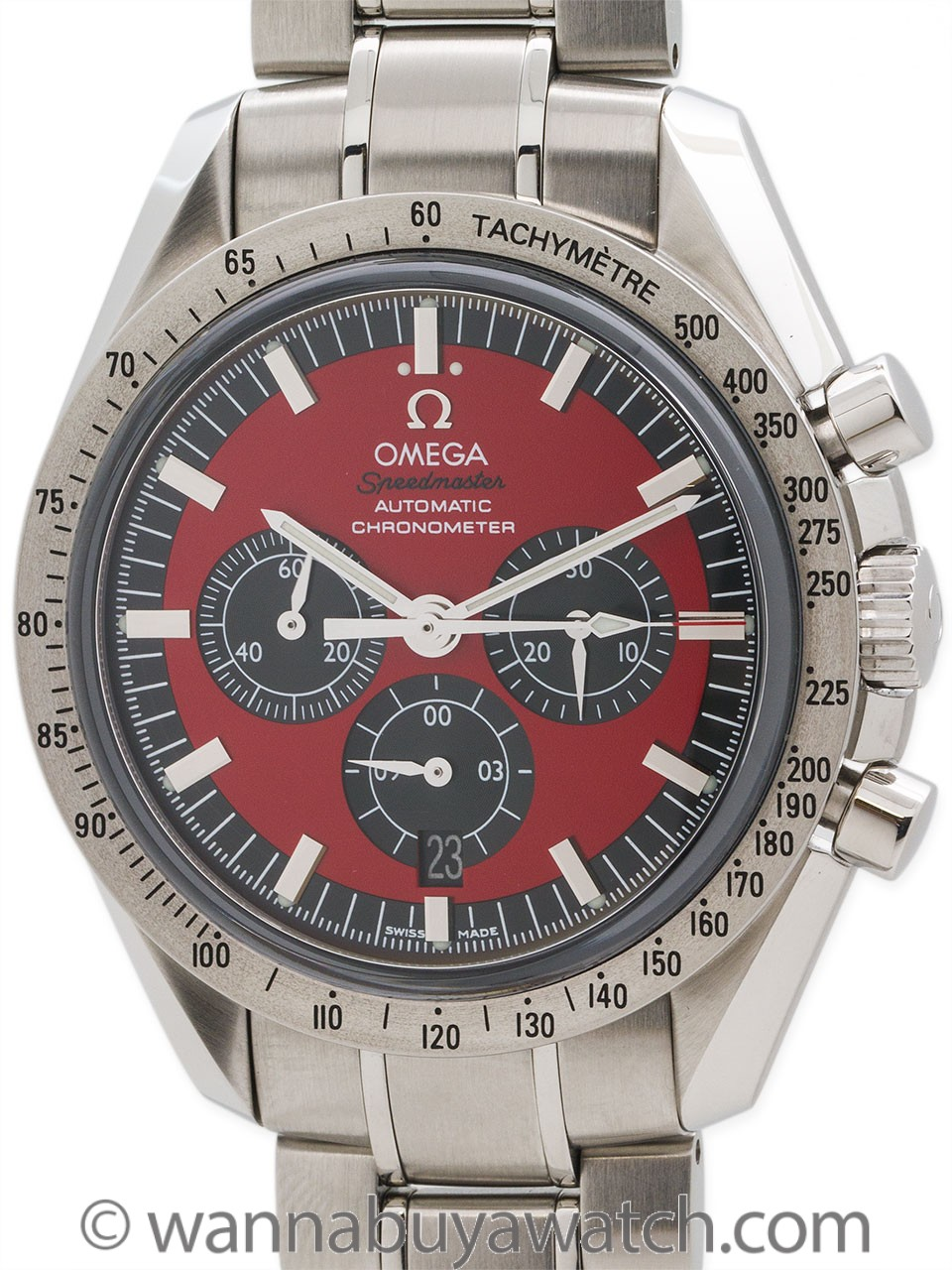 Omega Speedmaster Michael Schumacher Legend Collection circa 2006