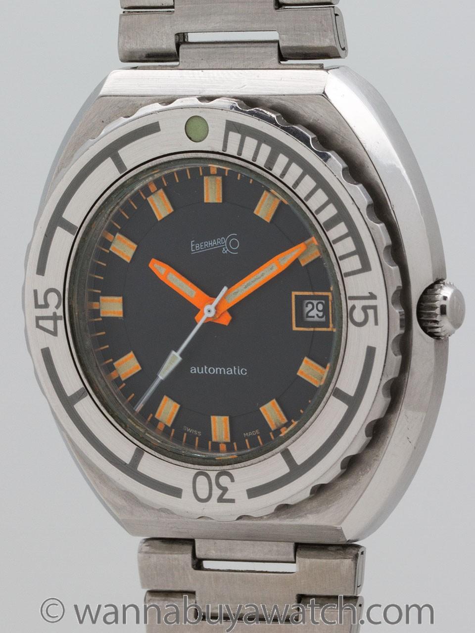Eberhard Diver's Automatic circa 1970's