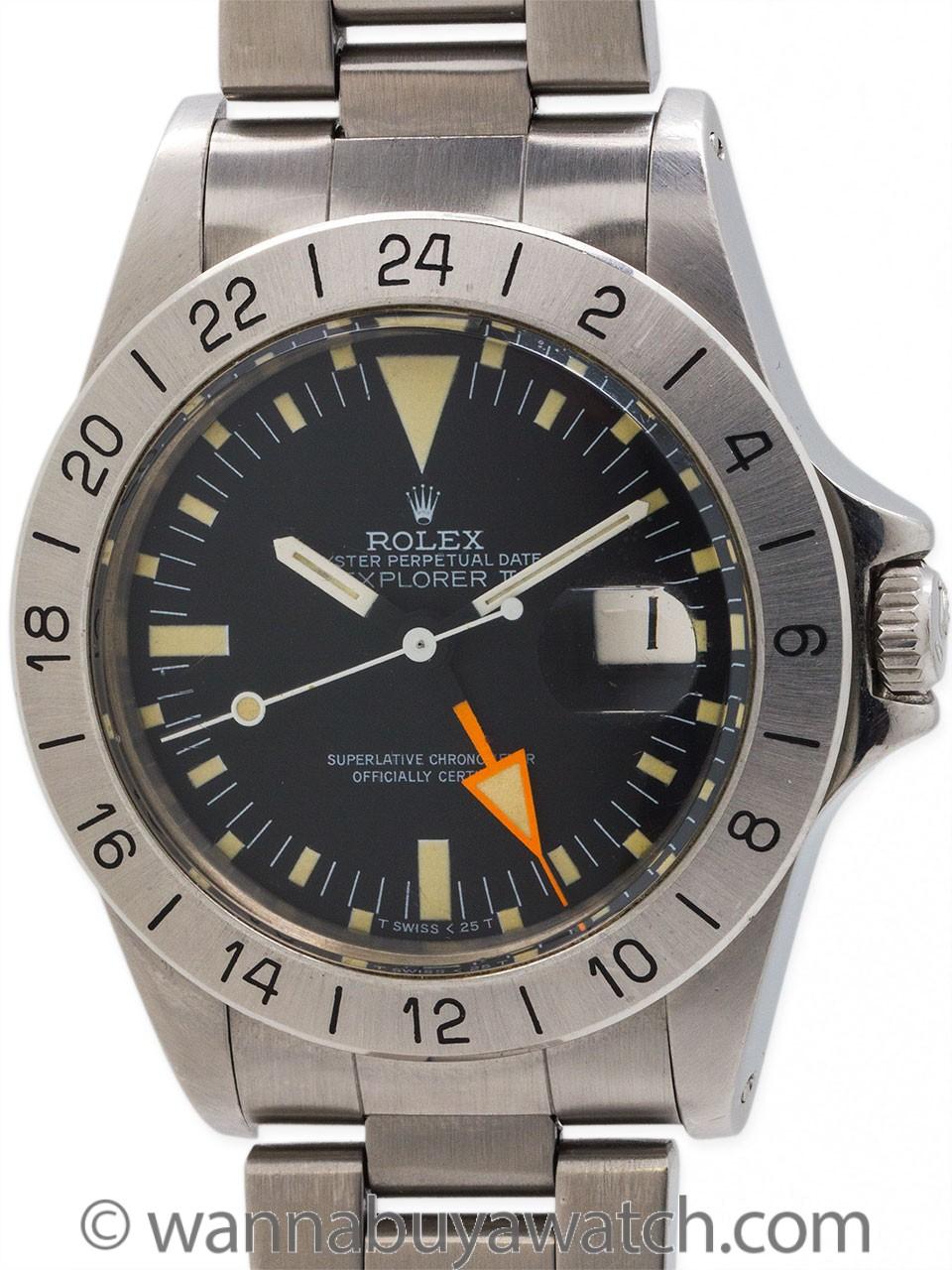 "Rolex Explorer II ref 1655 ""Steve McQueen"" circa 1982"