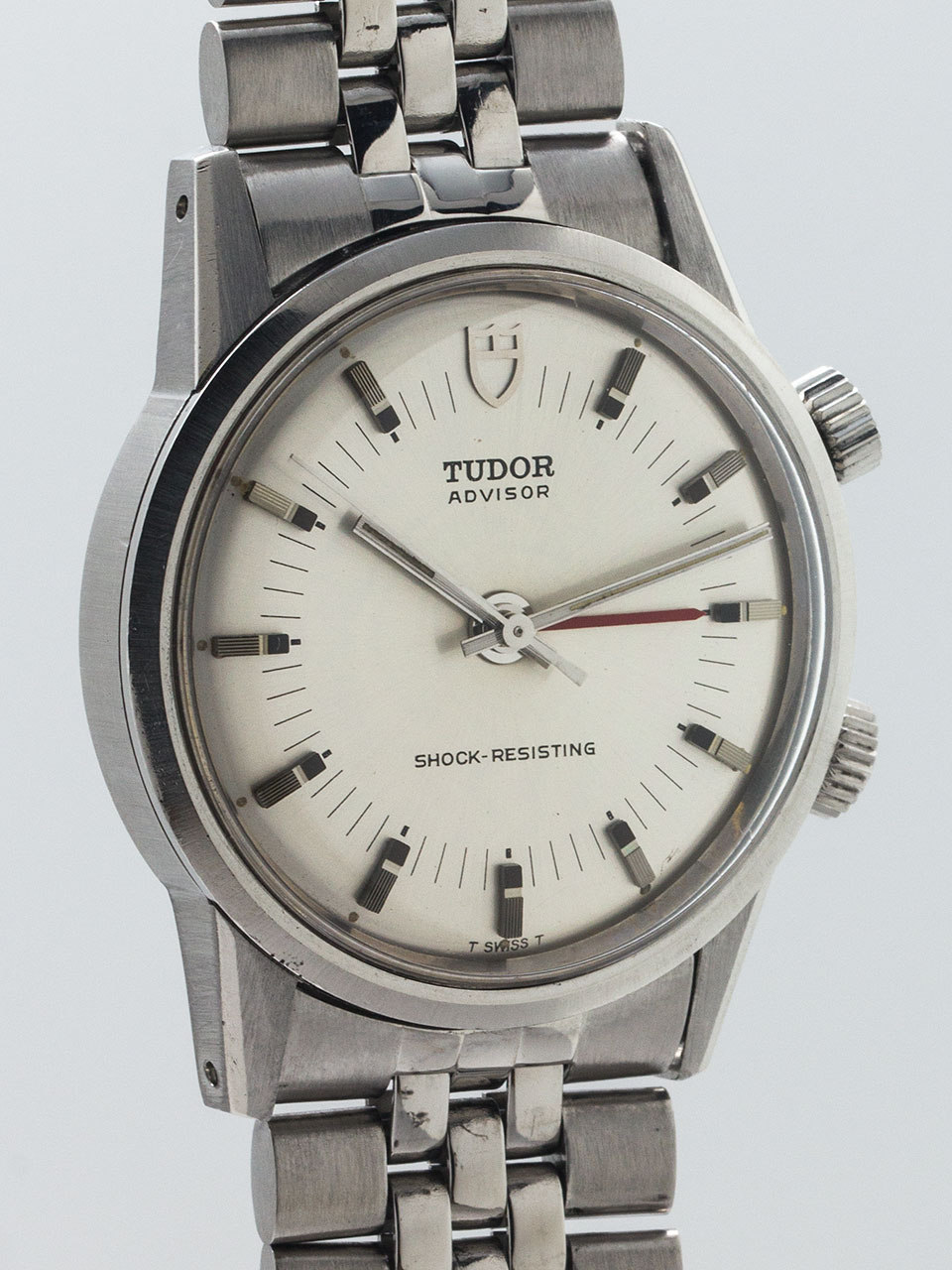 Tudor Advisor Alarm Stainless Steel circa 1970