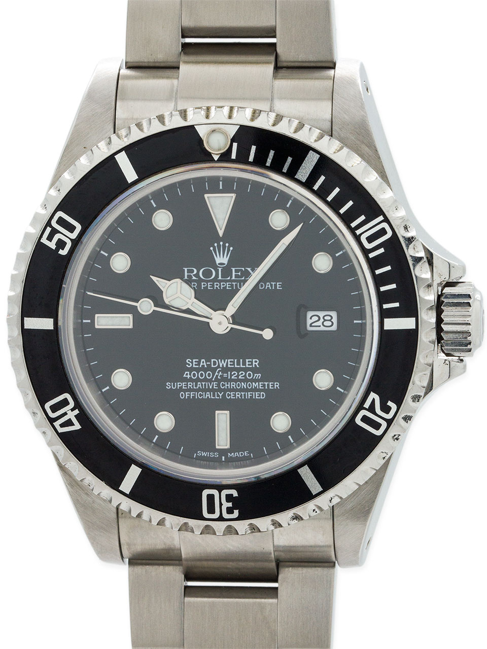 Rolex Seadweller ref 16600 circa 2002 Box & Papers
