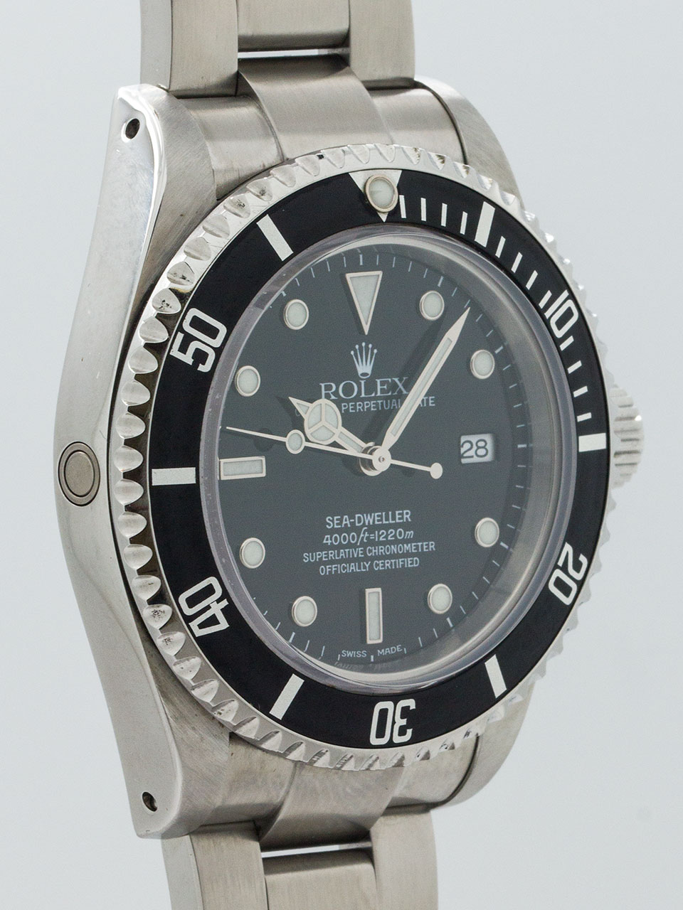 Rolex Sea-Dweller ref 16600 circa 2000