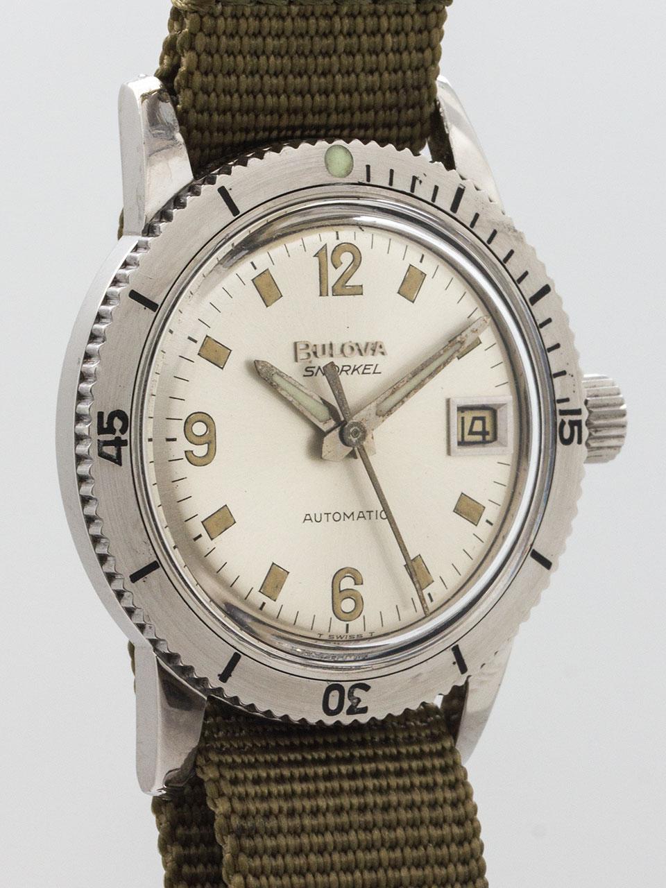 Bulova Divers Automatic 666 Feet circa 1960's
