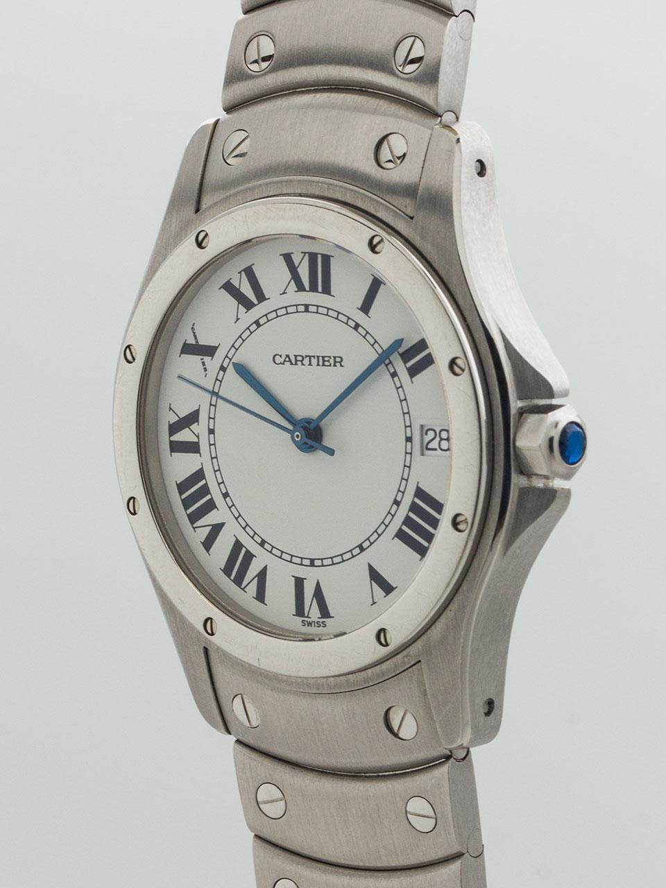 Cartier Santos Ronde Man's circa 2000