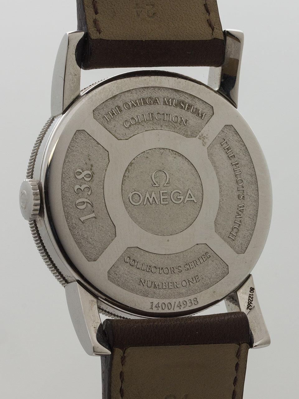 Omega Pilot Oversize Re-Issue of 1938 Aviator