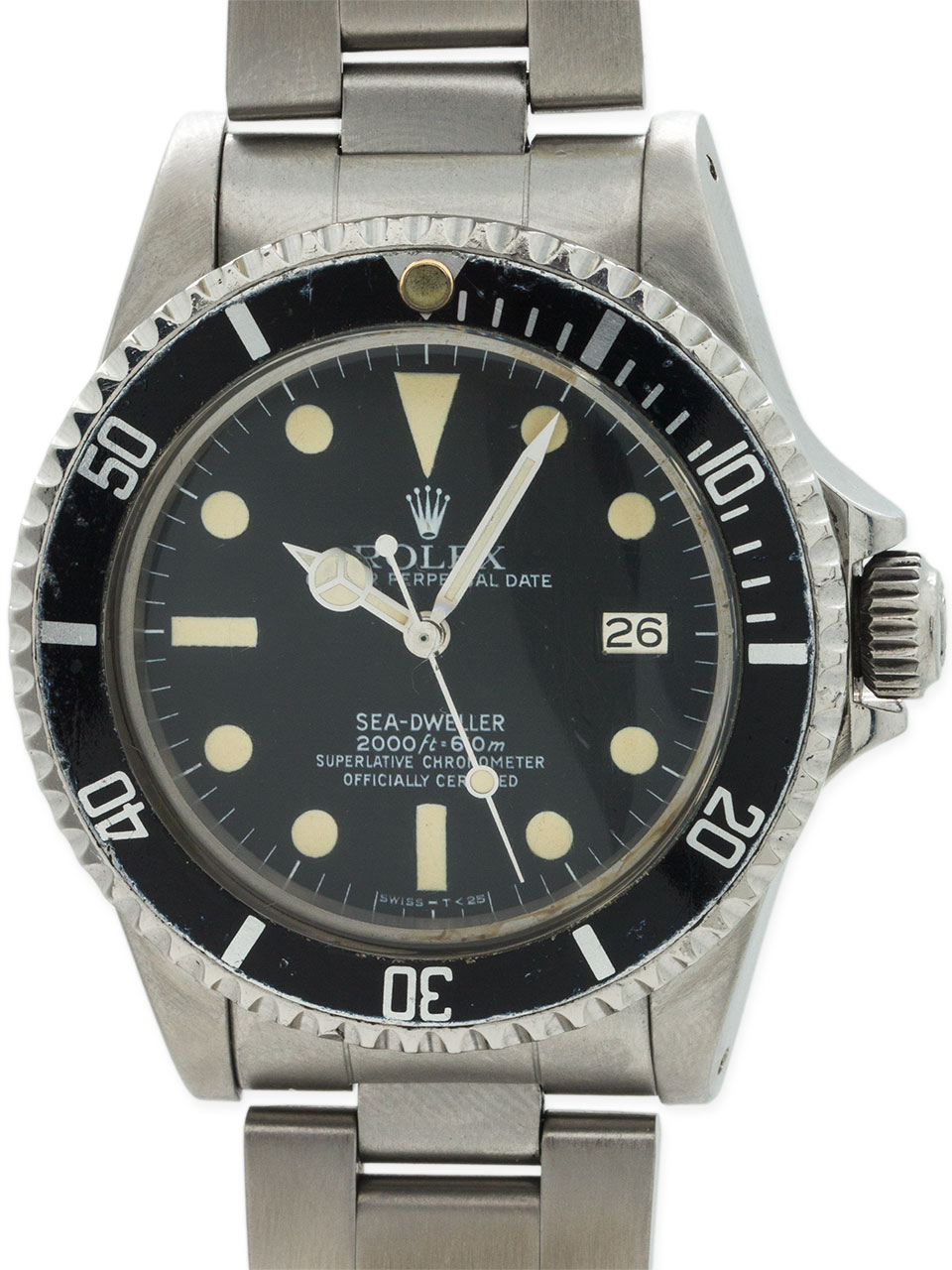 "Rolex Seadweller ref 1665 ""Great White"" circa 1979 Full Set B & P"