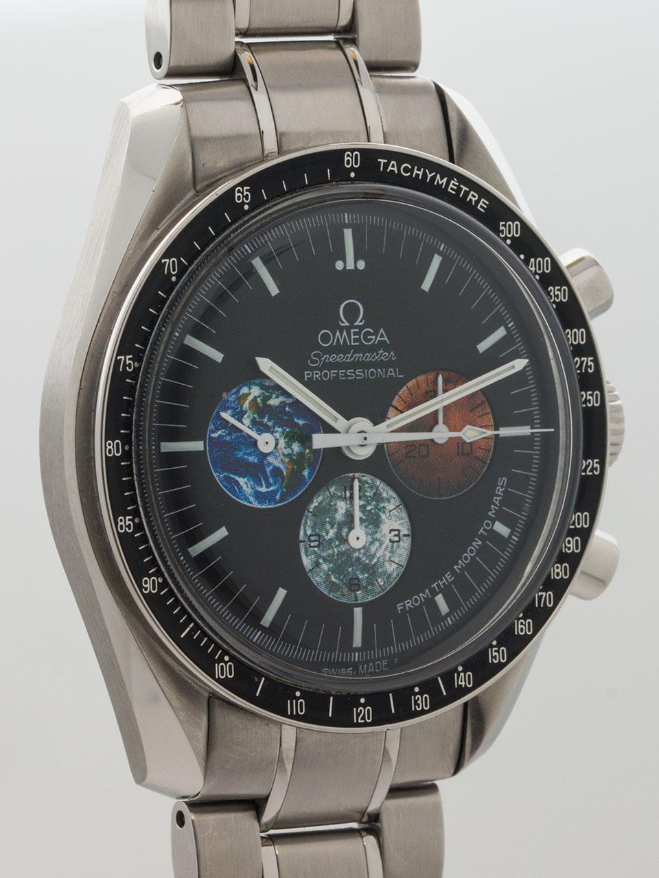 Omega Speedmaster Moon to Mars Mission w/ Card