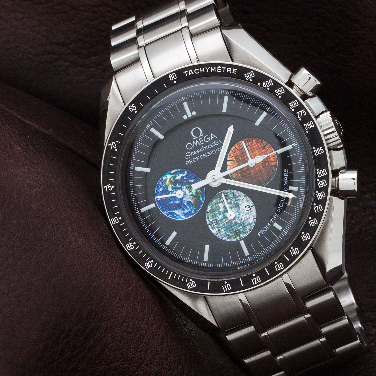 Omega Speedmaster Moon to Mars Mission w/ Card