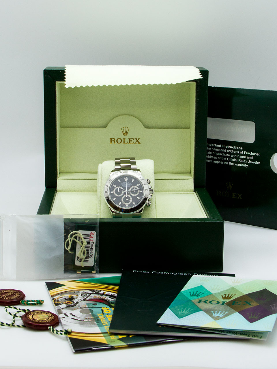 Rolex Daytona ref 116520 Box & Papers
