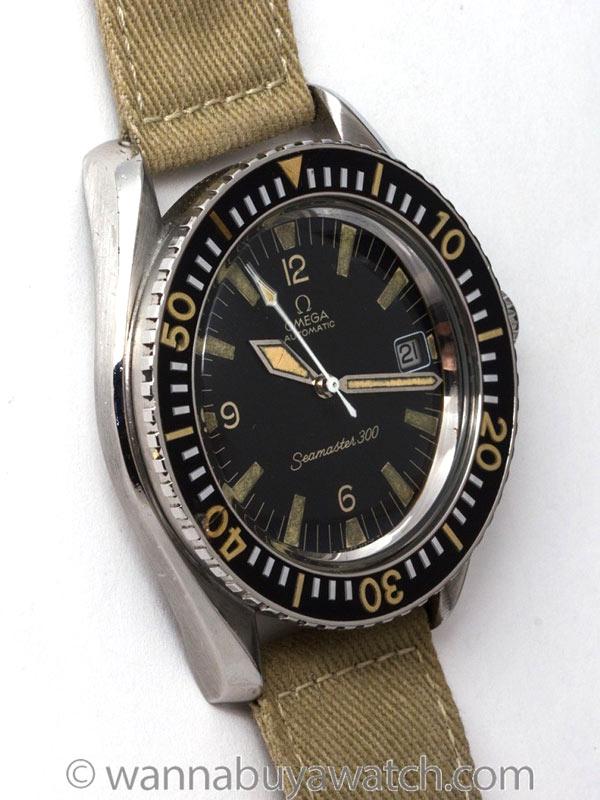 Omega Seamaster 300 ref 166.024 Stainless Steel circa 1968