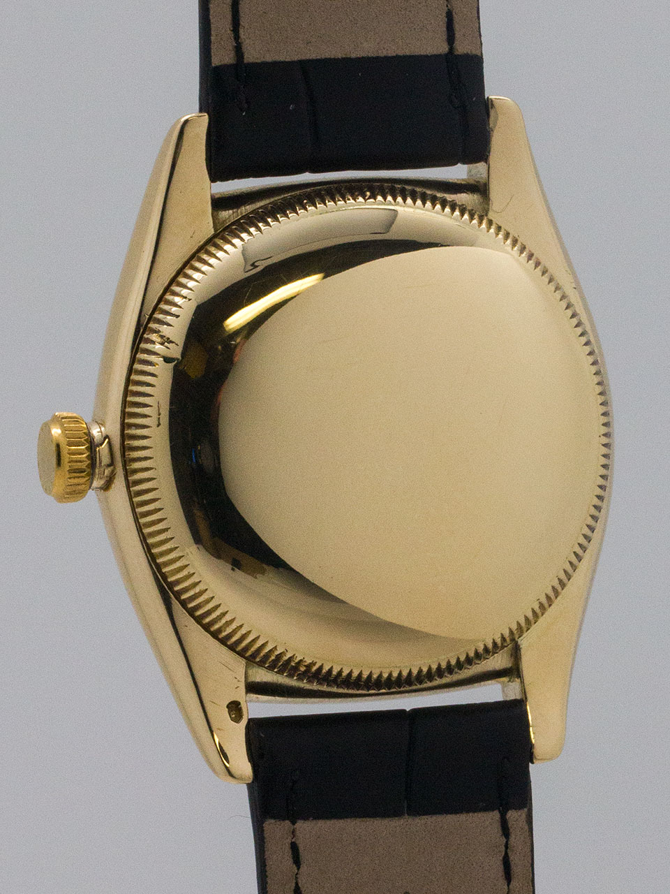Rolex Bubbleback ref 3131 14K YG circa 1940's