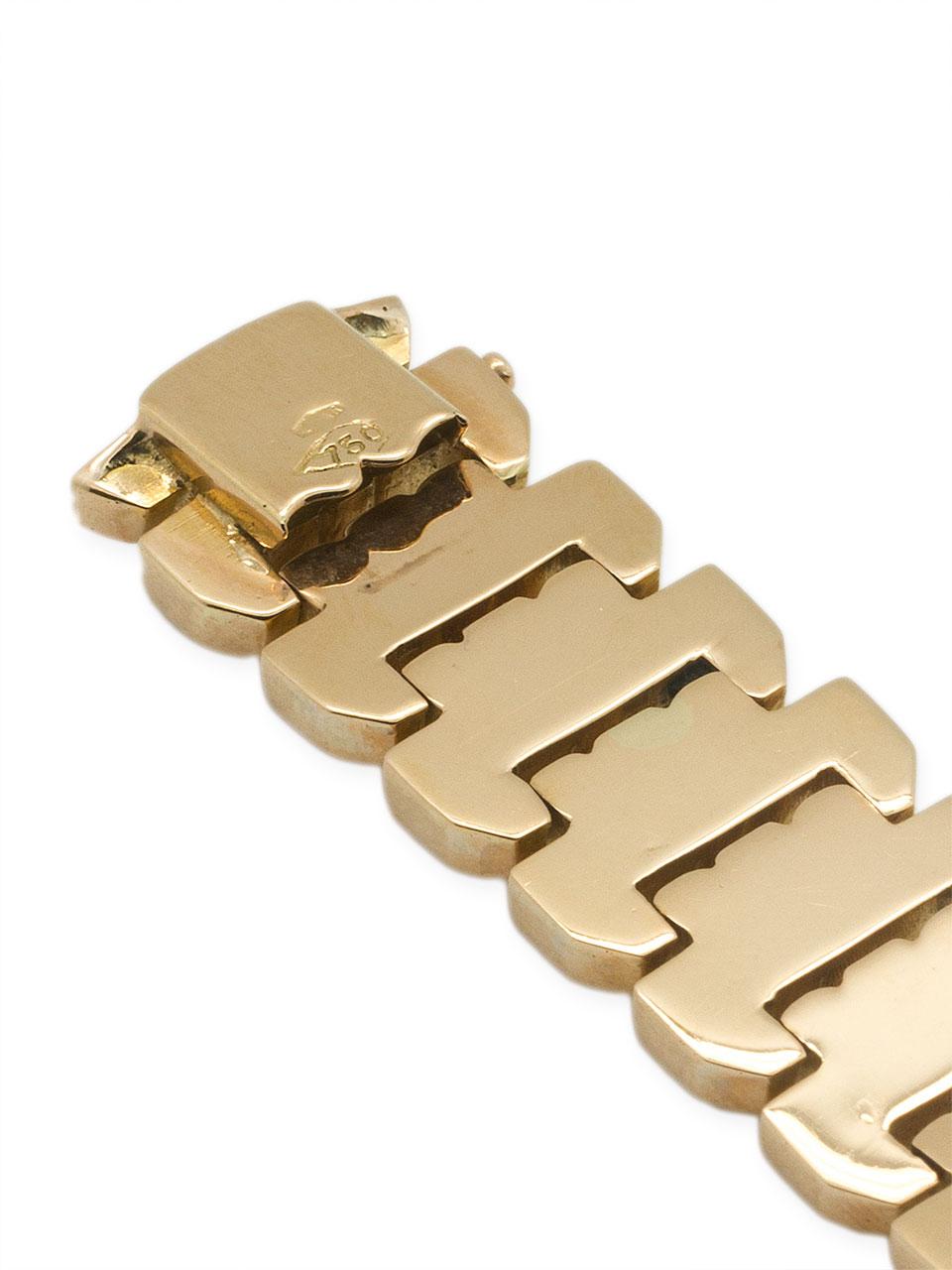 Retro Bracelet 18K Rose Gold circa 1950's