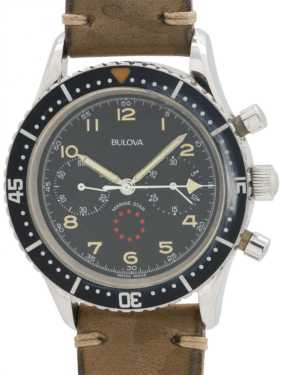 Bulova Marine Star Aviator Chronograph circa 1970