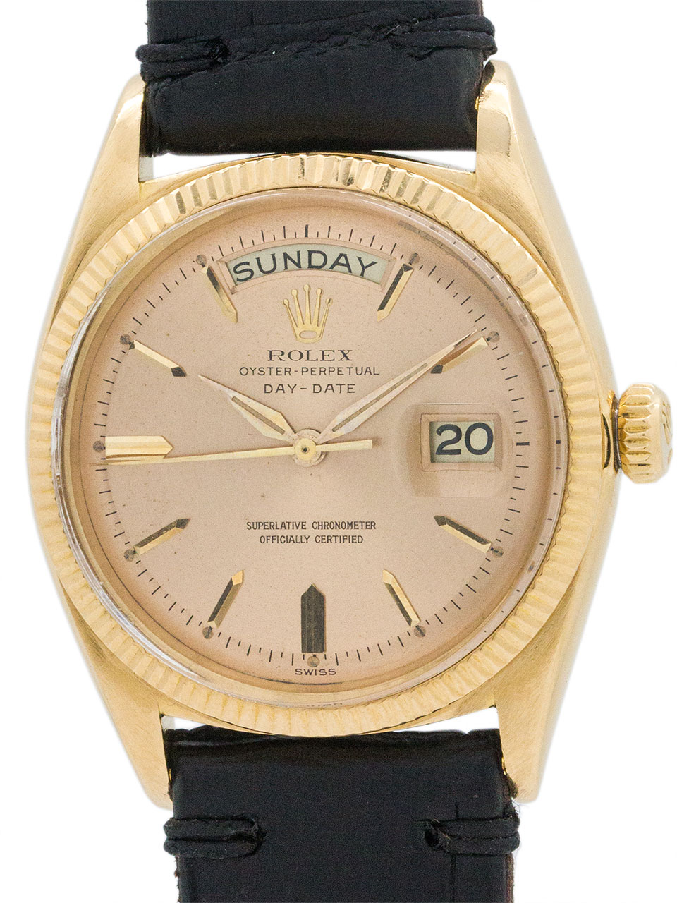 Rolex Day Date President ref 1803 Rose Dial circa 1968