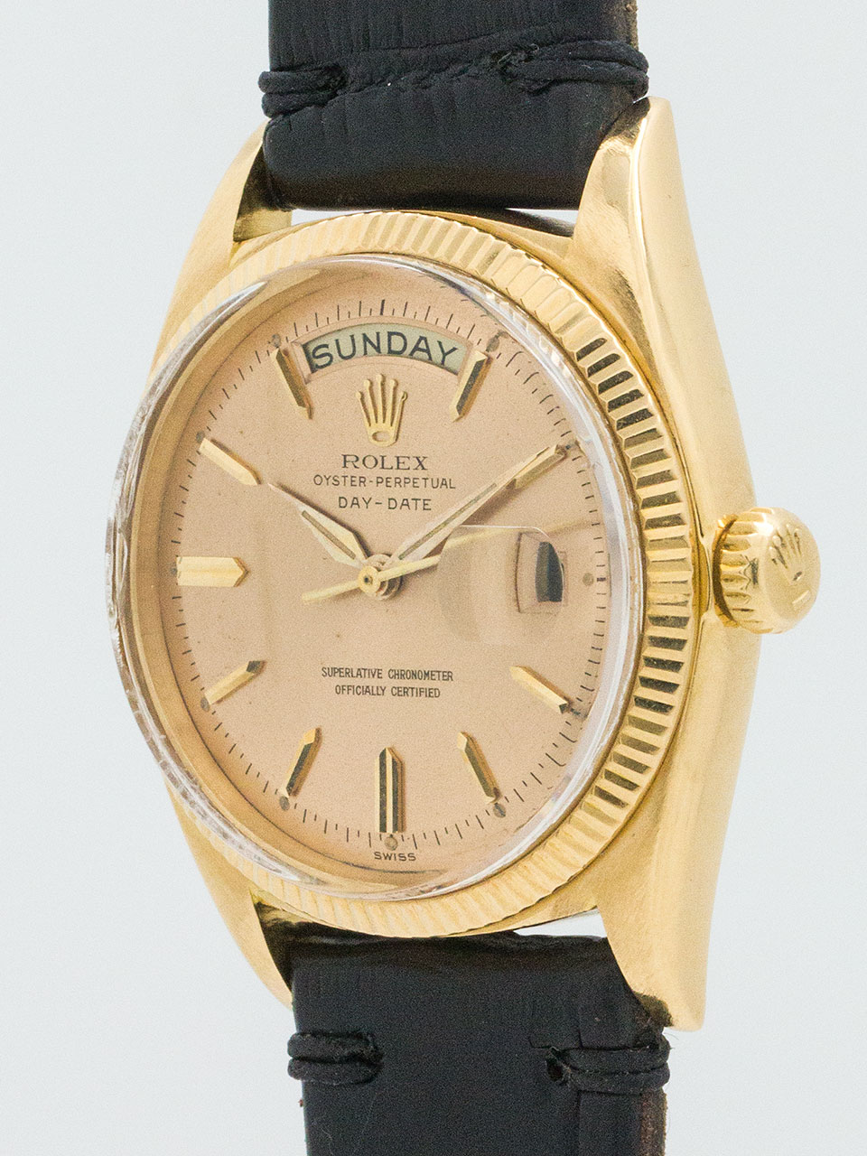 Rolex Day Date President ref 1803 Rose Dial circa 1968