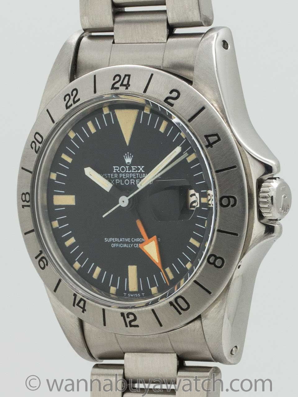 Rolex Explorer II ref 1655 Straight Second Hand circa 1971